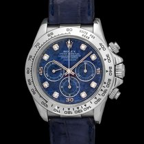 Rolex Daytona 16519 Sodalite & Diamond Index Dial