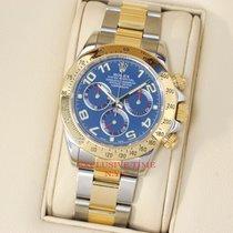 Rolex Daytona Two-Tone Blue Arabic Dial 116523