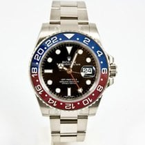 Rolex GMT MASTER II WHITE GOLD