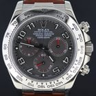 Rolex Daytona white gold croco strap full set 2013