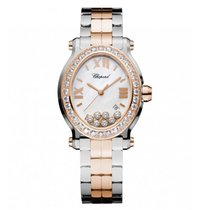 Chopard Happy Sport Oval After Market Diamond Watch