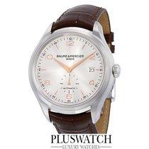 Baume & Mercier Clifton Automatic Silver Dial Brown...