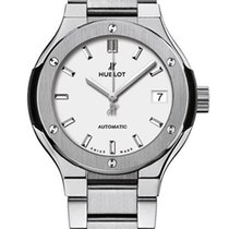 Hublot Classic Fusion 33 MM Automatic Titanium Women's Watch