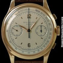 Patek Philippe Vintage Oversized 530 18k Rose Gold Chronograph