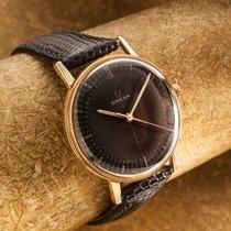 Omega Vintage Omega solid 14 ct gold gents dress watch