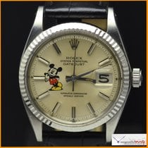 Rolex Date-Just Ref 1601 with logo Mickey Mouse  Rare
