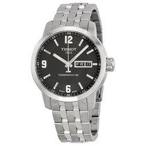 Tissot Powermatic 80 Black Dial Mens Watch T0554301105700