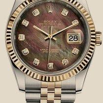 롤렉스 (Rolex) Datejust 36mm Steel and Yellow Gold