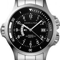 Hamilton Khaki GMT H77615133 Sportliche Herrenuhr Fliegeruhr