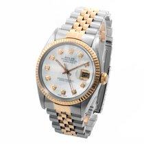 劳力士  (Rolex) 18K/SS Datejust Custom Mother of Pearl w/...