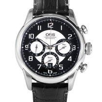 Oris RAID Chronograph Mens Stainless Steel Automatic Watch...