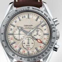Omega Speedmaster Broad Arrow GMT Chronograph