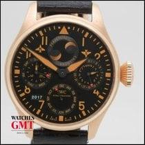 IWC Big Pilot Perpetual Calendar Rose Gold IW50263