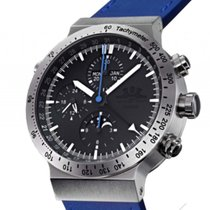 Temption CGK205 Blue Stahl Automatik Chronograph Vollkalender...
