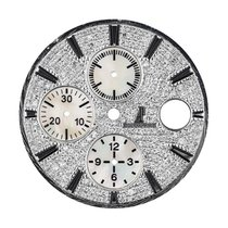 Audemars Piguet 44mm Diamond Pave Mother of Pearl Subdials...