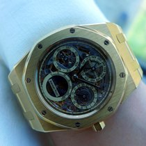 Audemars Piguet Royal Oak Perpetual Calendar Skeleton Dial - ...