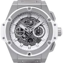 Hublot King Power Unico Titan White