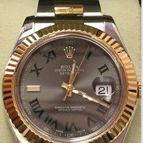 Rolex Datejust 2 Grey-Green 41 mm. 116333 09-2014 B&P