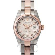 ロレックス (Rolex) Lady-Datejust 26 Champagne Steel/18k rose gold G...