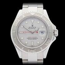 Rolex Yacht-Master Rolesium Platinum Bezel Stainless steel/pla...
