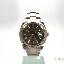 Rolex Datejust 41 Edelstahl Everose-Gold 126331 Choco Oyster