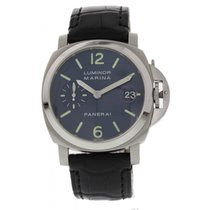 Panerai Luminor Marina Pam70 Blue Dial Box & Papers