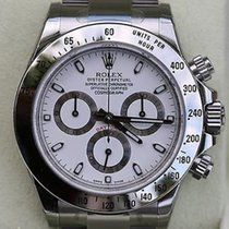 Rolex Daytona 116520 Stainless Box Papers White Dial Newest...