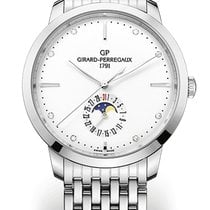 Girard Perregaux 1966 DATE AND MOON PHASES Steel Strap Steel...