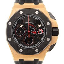 オーデマ・ピゲ (Audemars Piguet) Royal Oak Offshore 18k Rose Gold...