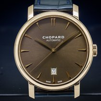 Chopard 161278-5012 Classic Brown Dial 18K RG Automatic (26406)