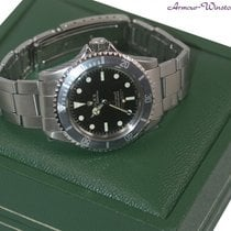 Rolex 5512 gilt dial 4 line ghost bezel Submariner w/papers