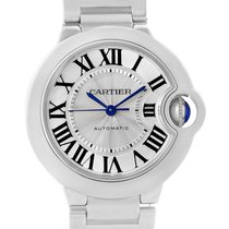 Cartier Ballon Bleu Steel Midzize 36mm Ladies Watch W6920046...