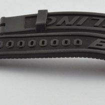 Breitling Kautschuk Armband Band 20mm 20-18 Für Dornschliesse...