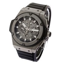 Hublot King Power Unico Skeleton Dial Titanium - mens watch