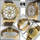 Rolex DAYTONA-Oro-Pelle