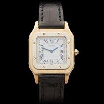 Cartier Santos Dumont Paris Mechanical 18k Yellow Gold Ladies