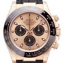 Rolex Daytona Ref.116515LN Zifferblatt Pink / Lederband