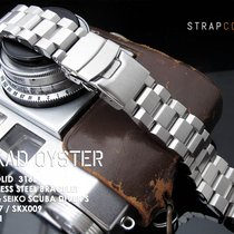 MiLTAT Hexad Oyster Bracelet for Seiko SKX007, Brushed