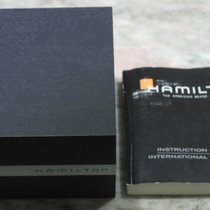 Hamilton box and warranty booklet papers for chrono models