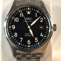 IWC Fliegeruhr Mark XVIII Edelstahlband 40 mm