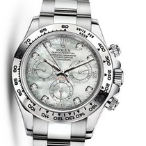 Rolex Oyster 116509 Perpetual Cosmograph Daytona 18K White G