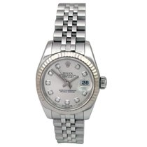 Rolex Pre-owned 26mm Rolex Stainless Steel Datejust #179174