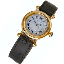 Cartier Diabolo Damenuhr Quarz im 18 kt. Goldgehäuse