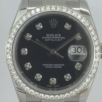 Rolex Datejust Diamonds Aftermarket Box/Papers 2017