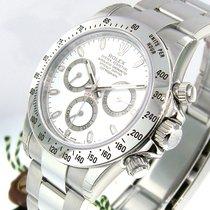 Rolex Daytona 116520 White Dial Stainless Steel Oyster Bracelet