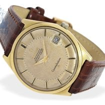 Omega Wristwatch: Omega Constellation 18K gold 'Pie-Pan&#3...