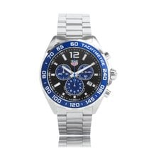 TAG Heuer F1 Quartz Stainless Steel Blue Dial TWG Exclusive...
