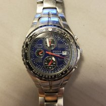 Pulsar 7t62-x041 Stainless Mens Chronograph Watch