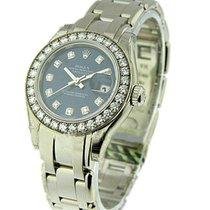 Rolex Unworn 80299_blue_dd Ladys White Gold Masterpiece - 32...