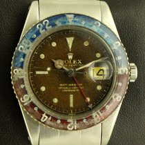 Rolex GMT Master Bakelite Ref. 6542 tropical brown dial